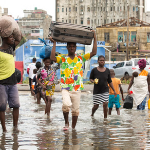 One of the worst natural disasters in Mozambique's history strikes twice