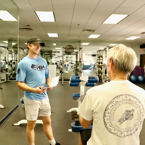 Exercise uplifts cancer survivor