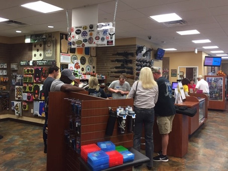 A reporter and a gun owner walk into a shop...