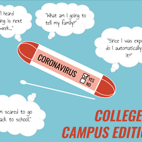 A peek behind closed doors Part 1:  PBA student feels 'embarrassed' after on-site COVID-19 test
