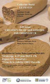 Atelier Création 2018-2019 dispositif d'appartements thérapeutiques Baïta
