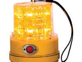 Amber LED Portable Strobe Light, 12V