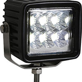Squar Clear LED Spot Light, 12-24V