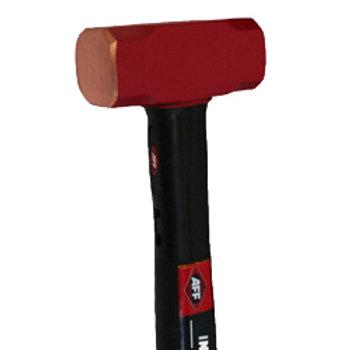 """Invincible Copper Club Hammer, 4 LB / 12"""""""