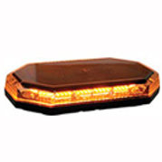 Hex. Amber Led Mini Lightbar 12-24 Volt