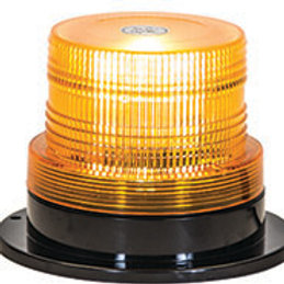 Amber 10 Flash Icandescent Utility Strobe Light, 1