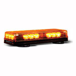 Rec. Amber Led Mini Lightbar 12-24 Volt