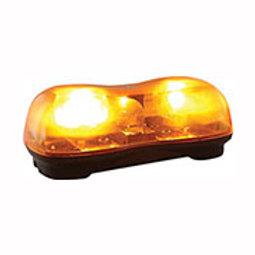 Amber Duel Halogen Mini Lightbar, 12V