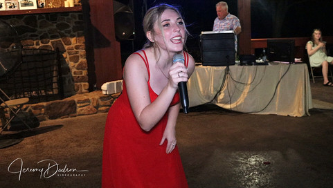 Singing Bridesmaid