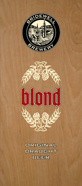 Bridewell Blond brewed by Bridewell Brewery