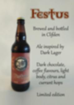 Festus brewed by Bridewell Brewery