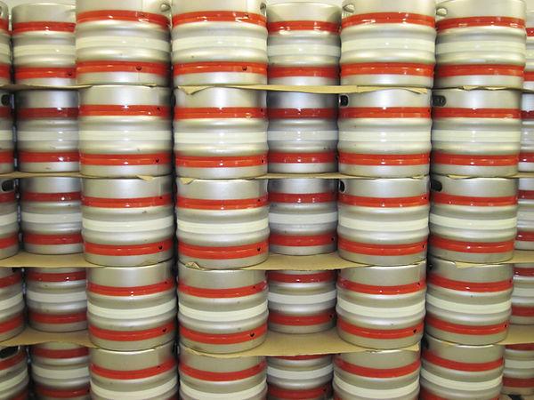 Bridewell Brewery kegs.JPG