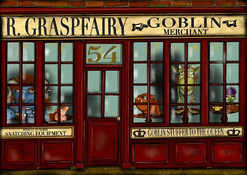 The Goblin Merchant - A5 Giclée print