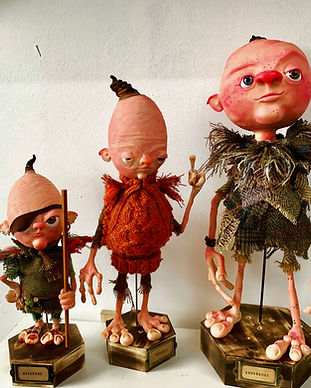 Richard McCloskey-Wall's one of a kind character sculpts