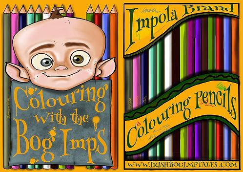 Bog Imp A5 Colouring Book