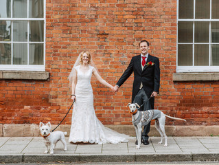Rachel, Chris & Their Hound Inspired Wedding