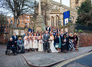 The Chic Winter Wedding of Dave & Marie, Featuring Pinchy the Frenchie