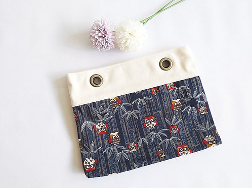 Zentique Handcarry Tote Bag - Bamboo Owls
