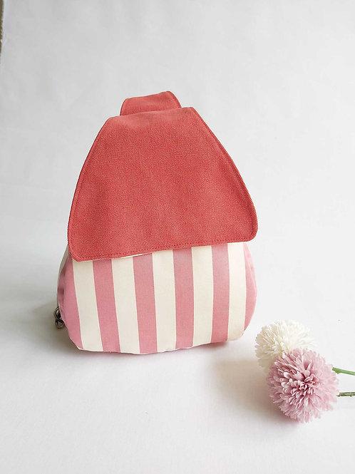Odilia Cross Shoulder Backpack - Pink It!