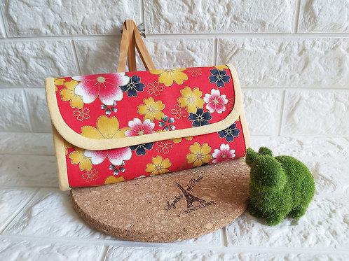 Handmade Fabric Angbao Organizer | Currencies Organizer : Husky & Sakura