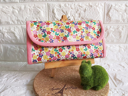 Handmade Fabric Angbao Organizer - Floral Fantasy Showcase