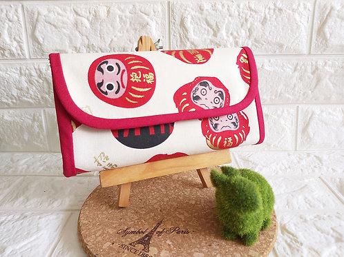 Handmade Fabric Angbao Organizer - Daruma Showcase