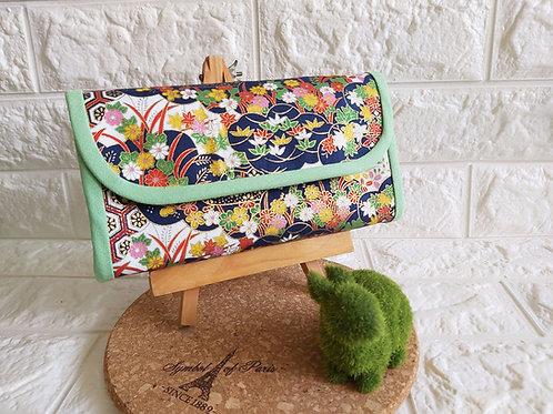 Handmade Fabric Angbao Organizer - Japanese Garden Showcase
