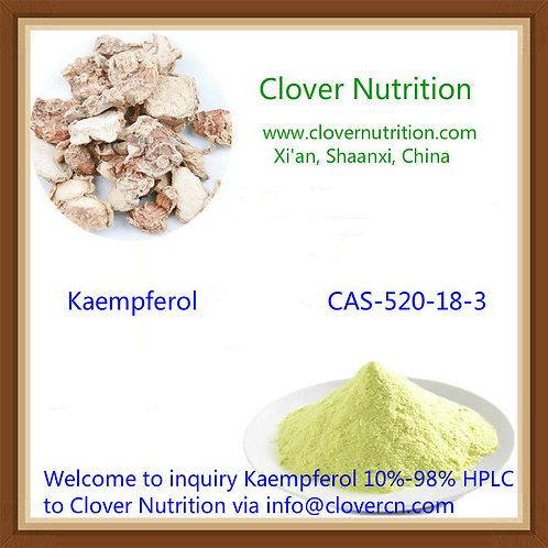 CNS091 Kaempferol 30% HPLC