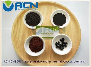 ACN CNS001 natural astaxanthin haematoco