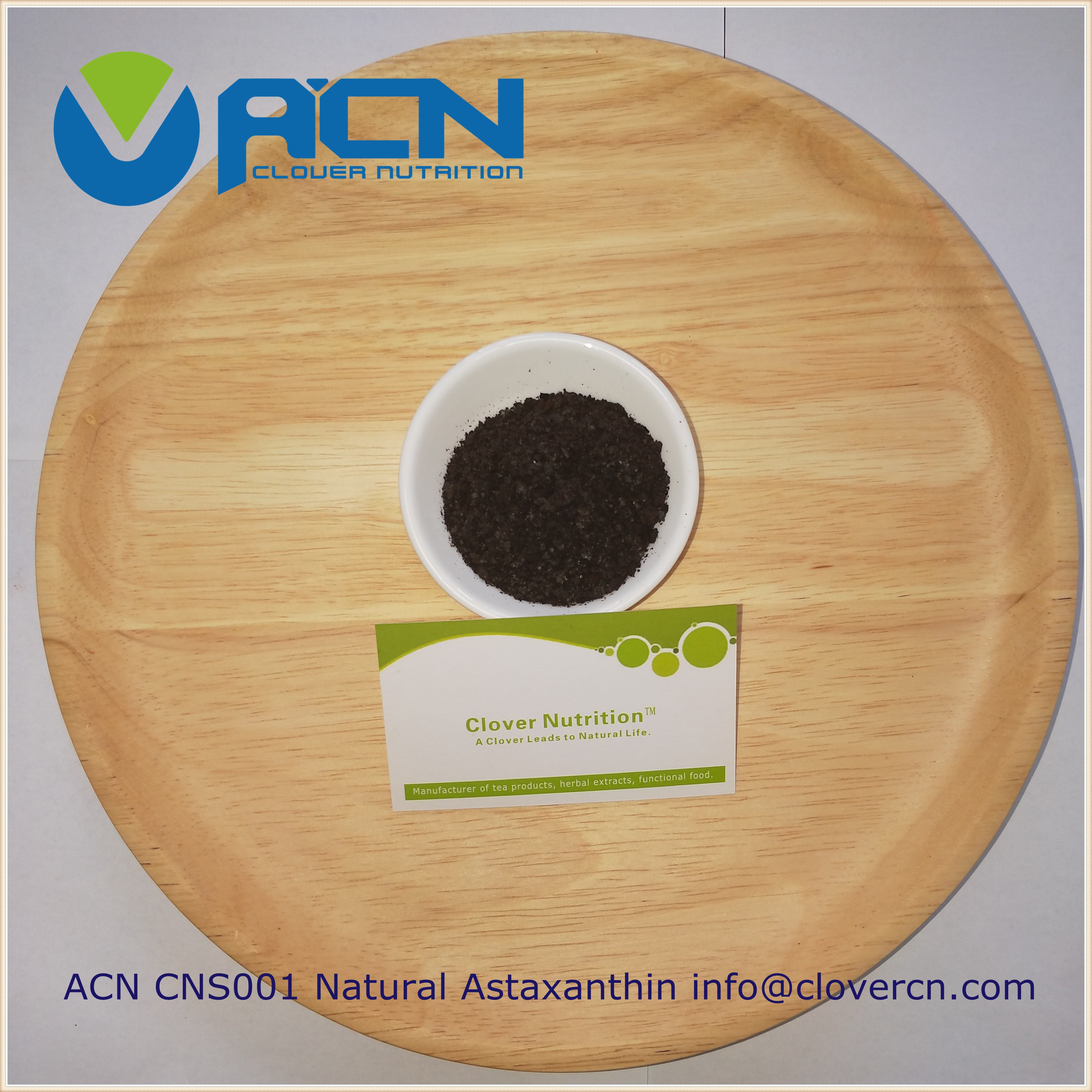 ACN CNS001 natural Astaxanthin cracked biomass powder