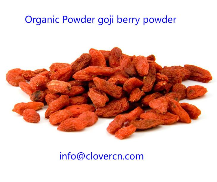 Organic Powder goji berry powder A Clover Nutrition Inc.jpg