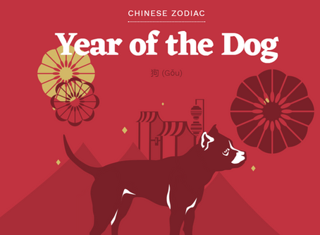 2018 Year of Dog-Prosperous Wealth Year Happy Chinese New Year info@clovercn.com