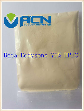 ACN-beta ecdysone 70% HPLC light yellow
