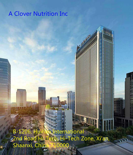 A Clover Nutrition Inc Office