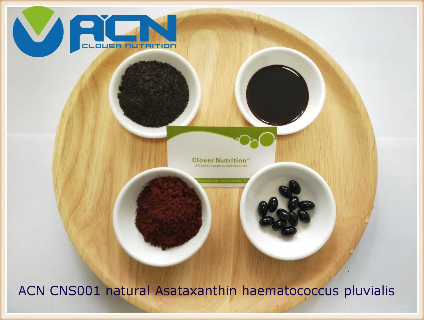 ACN CNS001 natural astaxanthin haematococcus pluvialis