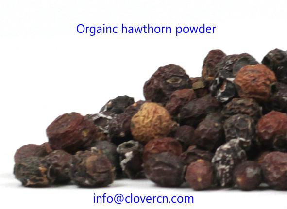 Organic hawthorn powder A Clover Nutrition Inc.jpg