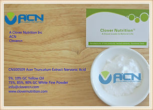 Truncatum Extract Nervonic Acid 90% GC| China | A Clover Nutrition Inc