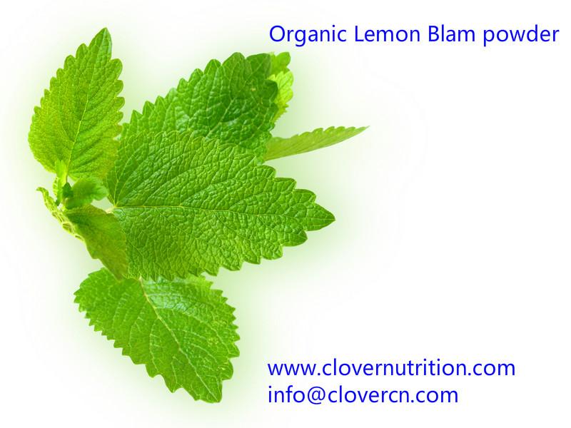 Organic Lemon Blam powder A Clover Nutrition Inc.jpg
