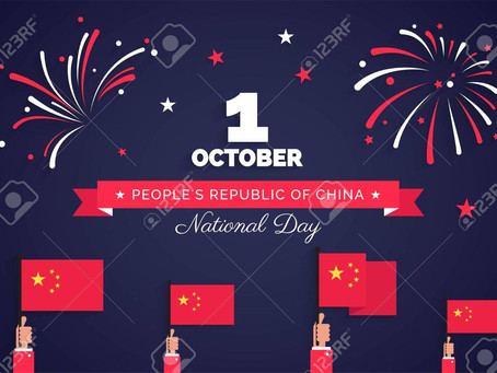 How do people celebrate National Day in China?