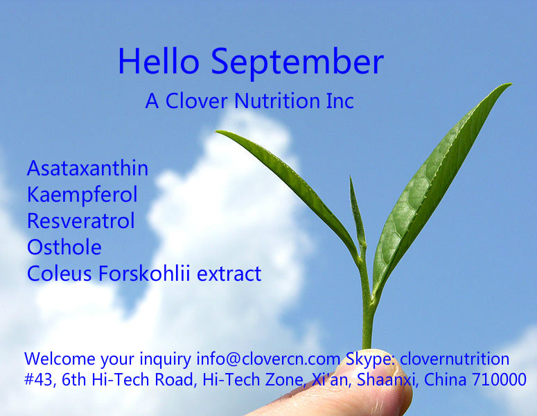 A Clover Nutrition Inc Herbal Extract Supplier
