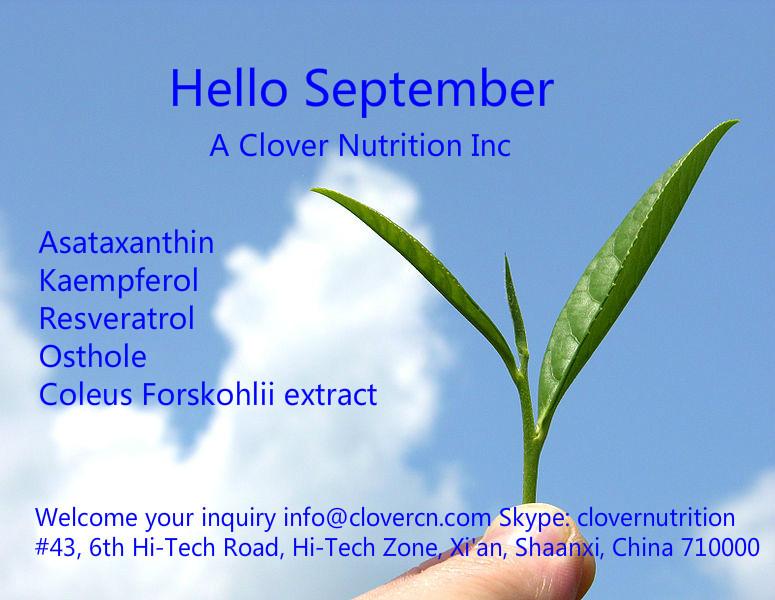 A Clover Nutrition Inc info@clovercn.com