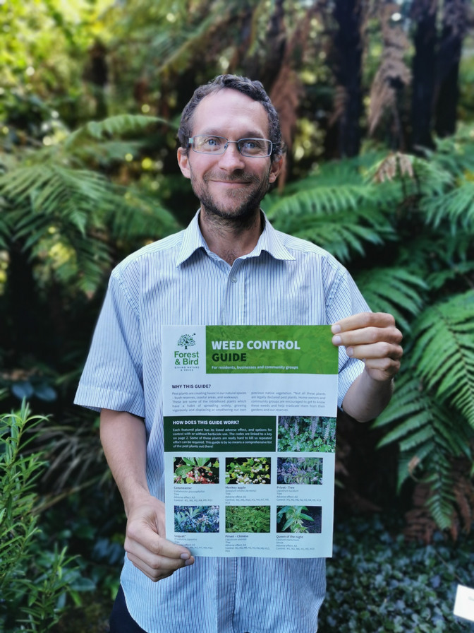 Meet Nic Charlton, our new Pest Plant Campaign Coordinator