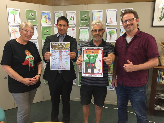 Winners Announced! Kauri Hero Poster Competition