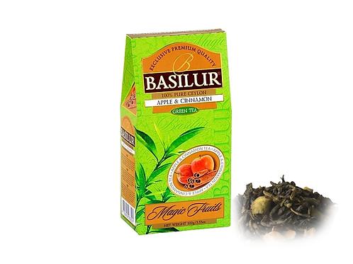 Apple Cinnamon Green Leaf Tea