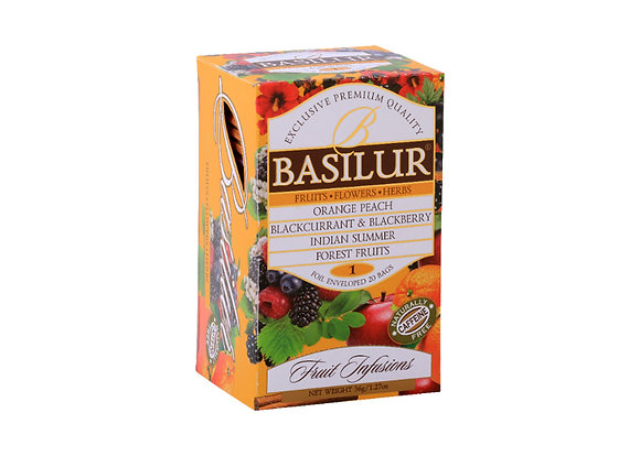 Fruit Infusion - Assorted Vol. 1 (20 Tea Bags)