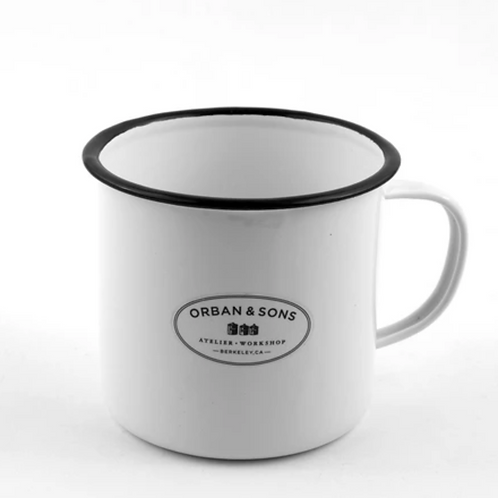 Orban & Sons Enamel Large Mug