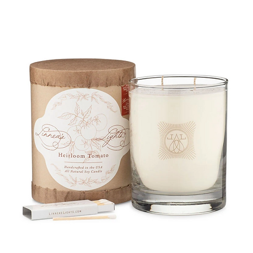 Heirloom Tomato Summer Garden 2-Wick Candle