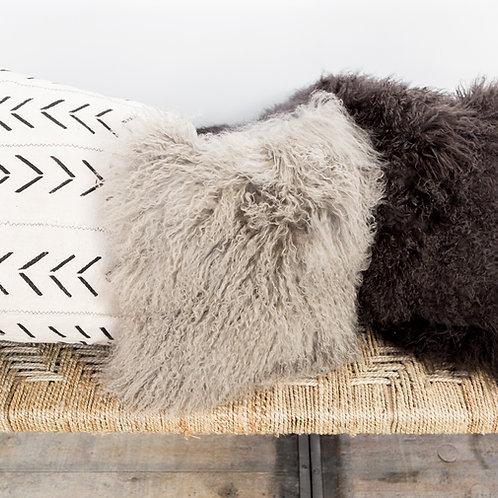 Mongolian Mohair Pillow