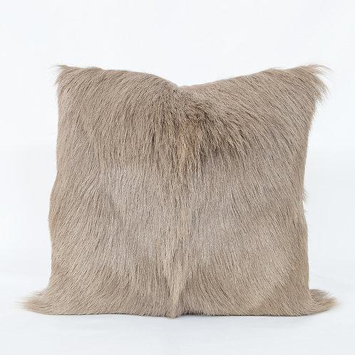 Goat Hide Throw Pillow