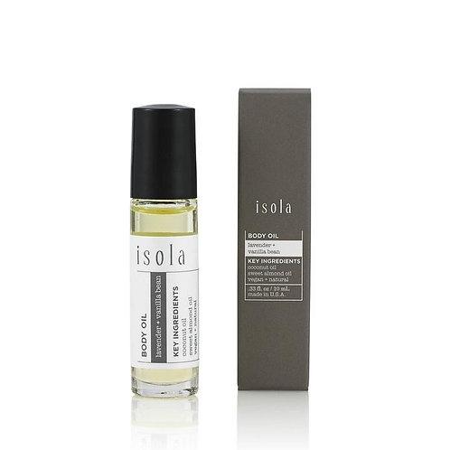 Lavender + Vanilla Bean Body Oil Roll-On